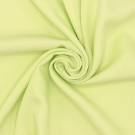 Tissu viscose aspect soie lavée - pistache