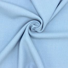 Extensible fabric - blue