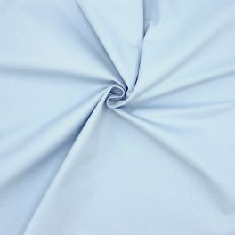 100% cotton with twill weave - sky blue