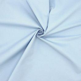 100% katoen met keperbinding - hemelsblauw