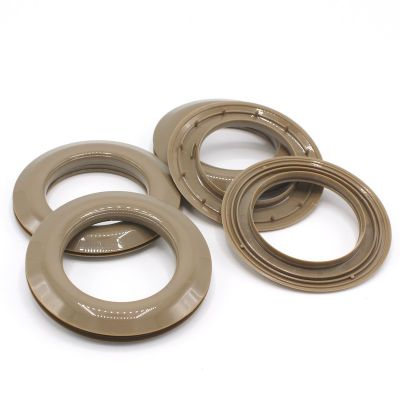 Ring clips - taupe