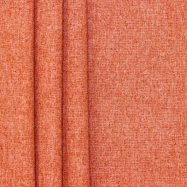 Tissu occultant chiné brique