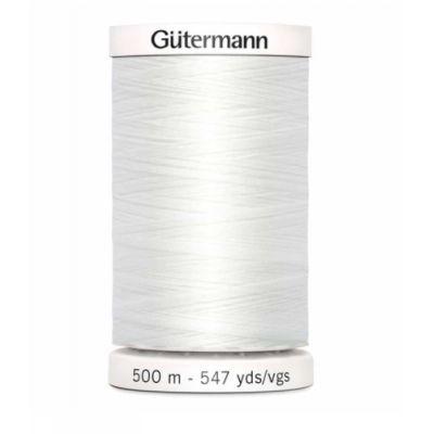 White sewing thread Gütermann 800
