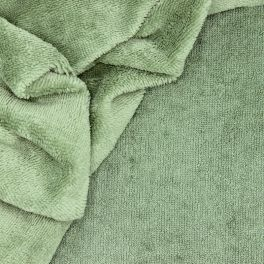Bamboo terry fabric - rosemary