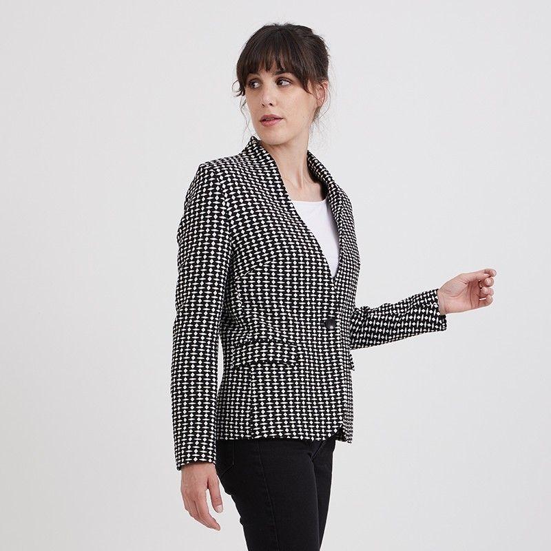 Woman's pattern jacket Naime