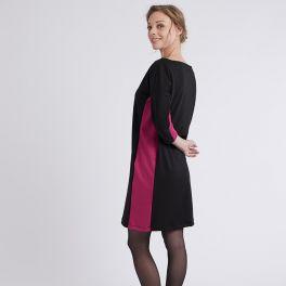 Woman's pattern dress and blouse Amazone