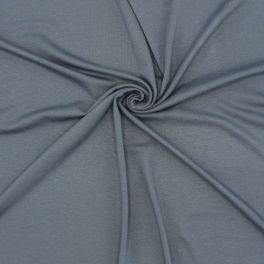Jersey viscose fabric - grey