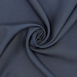 Polyester fabric - midnight blue