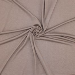 Viscose jersey fabric - taupe