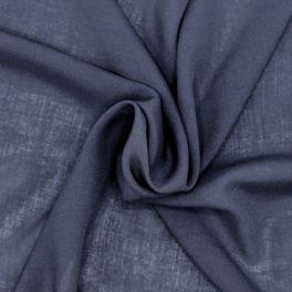 100% rayon - marineblauw