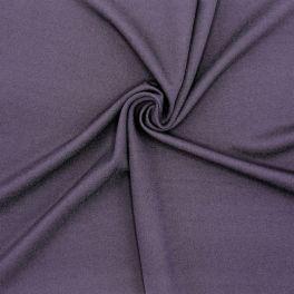 Tissu viscose et polyester - aubergine