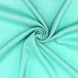 Tissu viscose - aqua