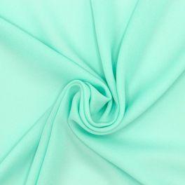 Tissu crêpe léger polyester - opaline