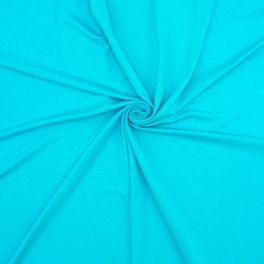 Tissu jersey viscose - turquoise