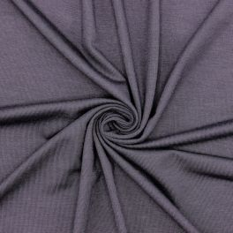 Viscose jersey fabric - eggplant colored