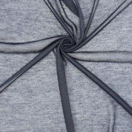 Polyester gebreide stof - marineblauw