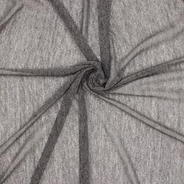 Polyester gebreide stof - grijs