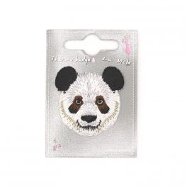 Tête de panda thermocollant