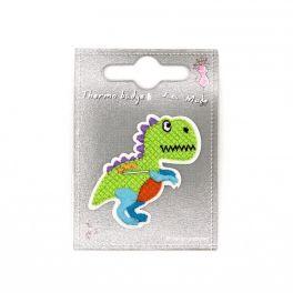 Dinosaure vert thermocollant