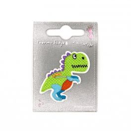 Opstrijkbare groene dinosaurus