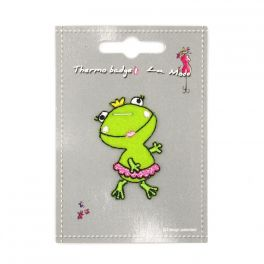 Iron-on patch frog