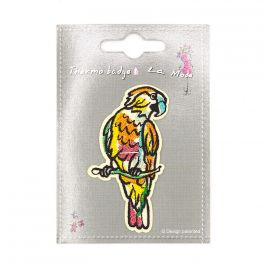 Iron-on patch parrot