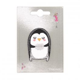 Iron-on patch penguin