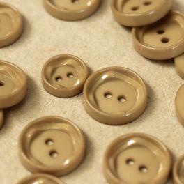 Round button - coffee with milk