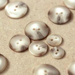 Round button - mrbled beige