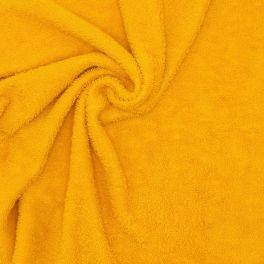 Hydrofiel badstof in katoen - geelbruin