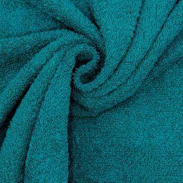 Hydrofiel badstof in katoen - eendblauw