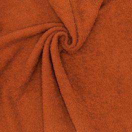 Tissu éponge hydrophile - rouille