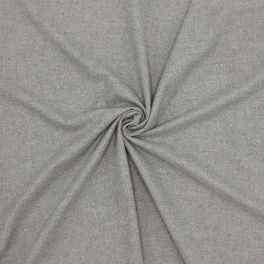 Twill extensible gris