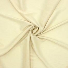 Tissu vestimentaire vanille