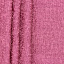 Toile de coton structurée - fuchsia