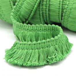 Frange coton  vert prairie