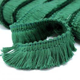 Cotton fringes - pine green