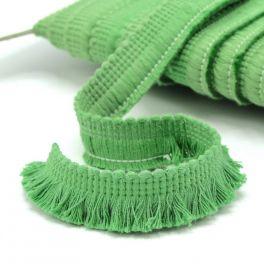 Frange coton  vert