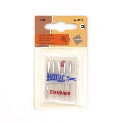 Needle for sewing machine n°70/10