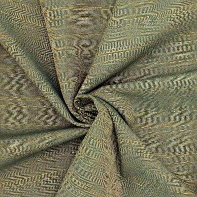 Tissu extensible à rayures chevrons kaki