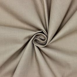 Fabric in cotton and polyester - mouse grey