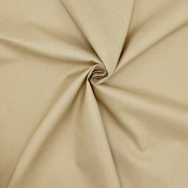 Fabric in cotton and polyester - pebble beige
