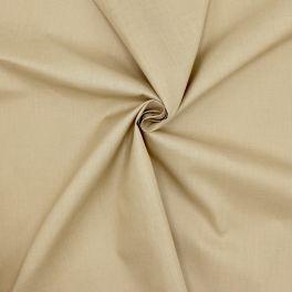 Tissu en coton et polyester galet