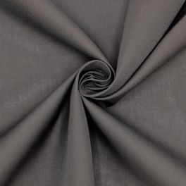 Fabric in cotton and polyester - antracite