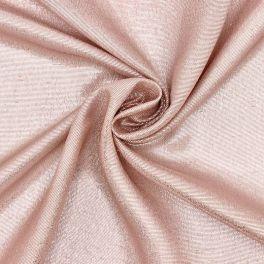Sluier in zijde met lurex draad - roos