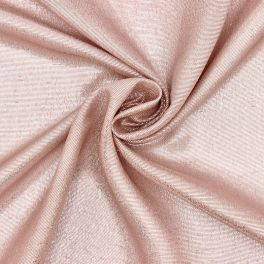 Veil in silk with lurex thread - pink