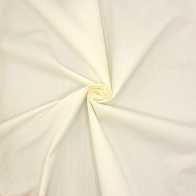 Ripstof canvas in katoen and polyester - gebroken wit