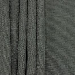 Upholstery fabric with linen aspect - slate-colored