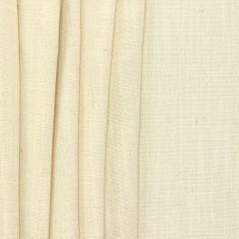 Meubelstof met linnen aspect - gebroken wit