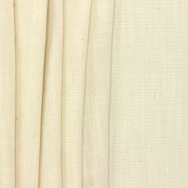 Upholstery fabric with linen aspect - off-white